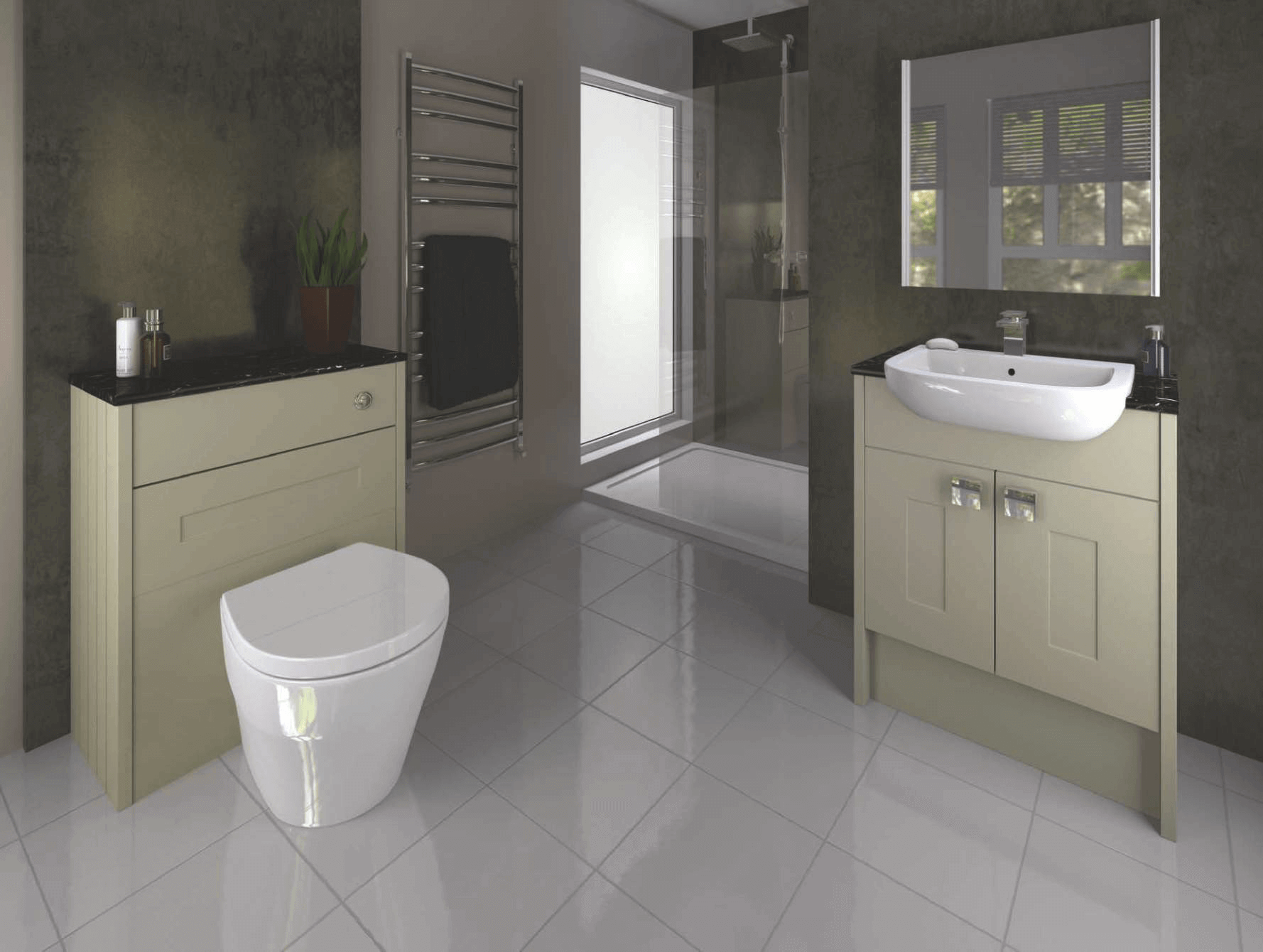 Fully Fitted Eco Bathrooms  Kitchens Plus